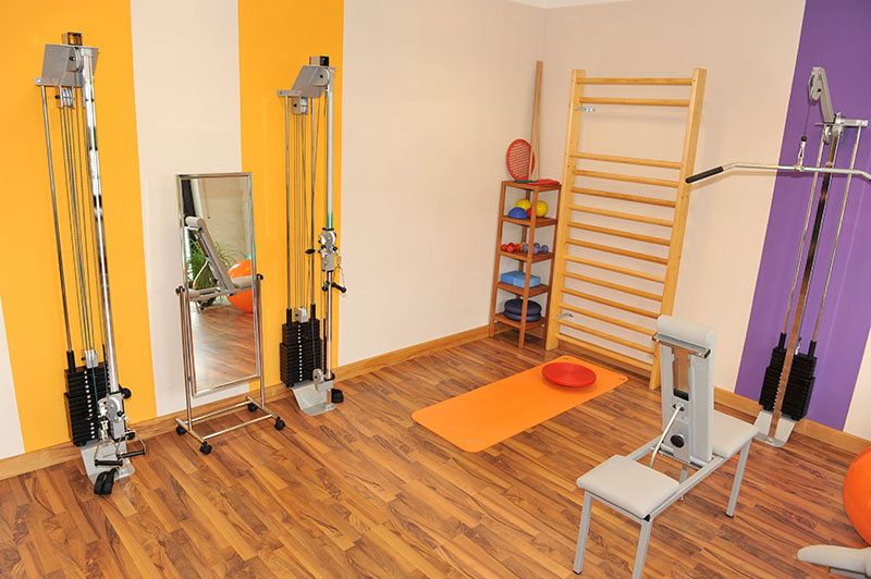 Physiotherapie, Geräterraum