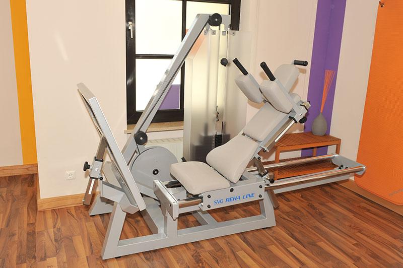 Physiotherapie, Trainingsgerät