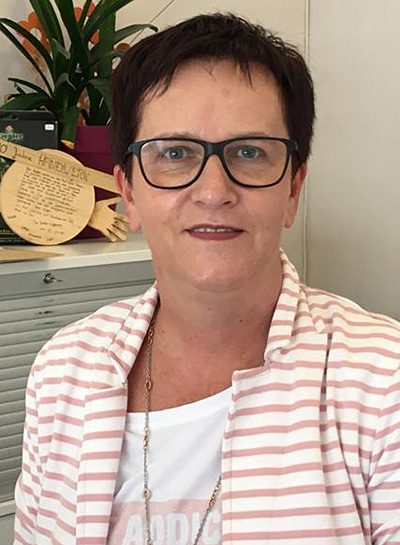 Hanwerk Physiotherapie, Mitarbeiterin, Brigitte Elser